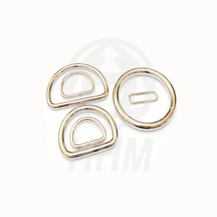 Metal Loop and Ring